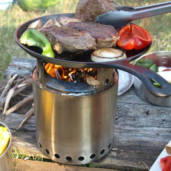 Solo Stove Campfire Brilliant Natural Fuel Backpacking Stove